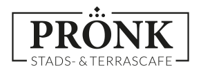 Logo PRONK Stads- & Terrascafé