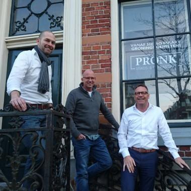 De drie mannen van Pronk